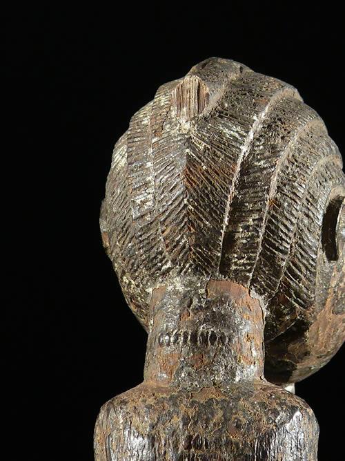Statuette feminine maternite Zuzu - Gouro - Cote Ivoire