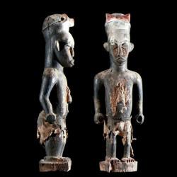 Statue ancetre Urhobo -...