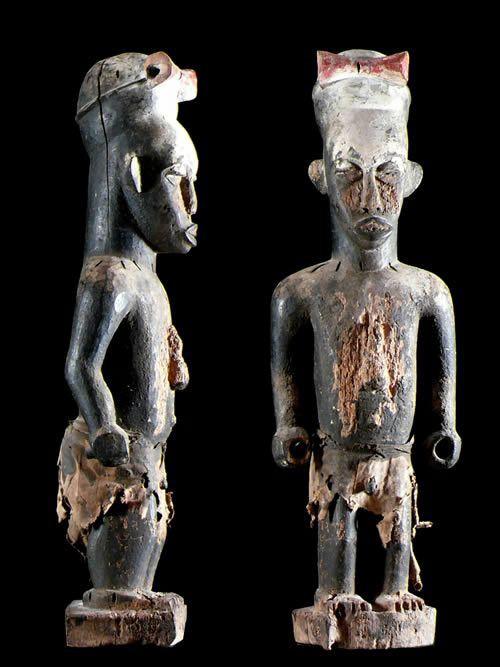 Statue ancetre Urhobo - Nigeria