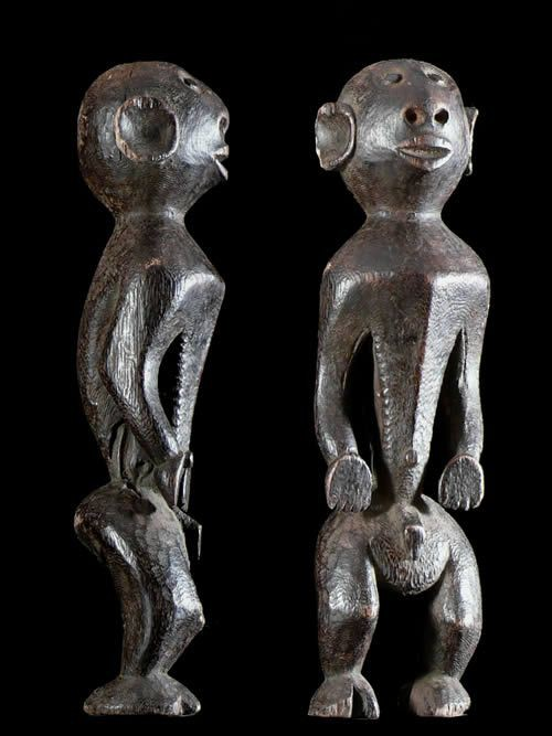 Statuette zoomorphe Komtin - Montol - Nigeria