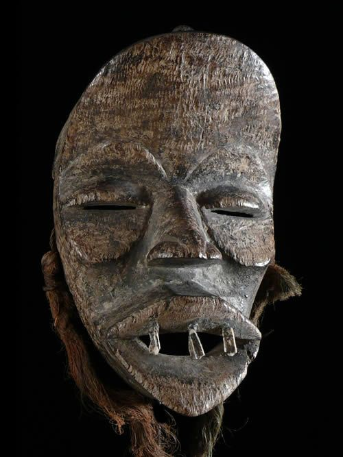 Masque rituel - Dan / Yacouba - Côte d'Ivoire