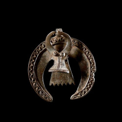 Pendentif amulette Buffle -...