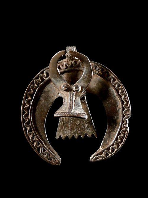 Pendentif amulette Buffle - Bwa - Burkina Faso