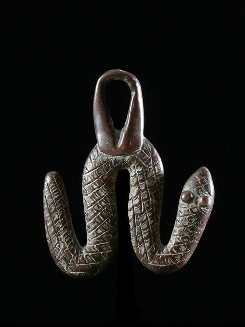 Pendentif amulette vipere - Lobi - Burkina Faso