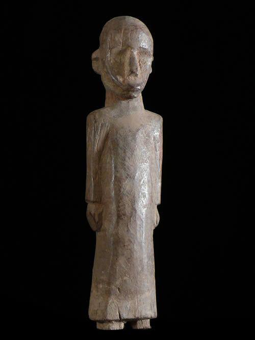 Statuette de Pretre Chretien - Lobi - Burkina Faso