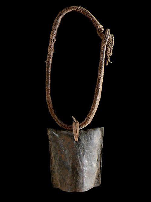Cloche a betail en fer Doune - Turkana / Bashada - Ethiopie