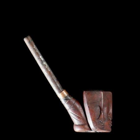 Pipe a tabac en bois -...