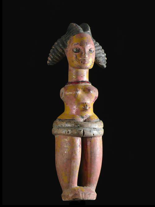 Marionnette Polychrome - Ibibio - Nigeria - Marionnettes Afrique
