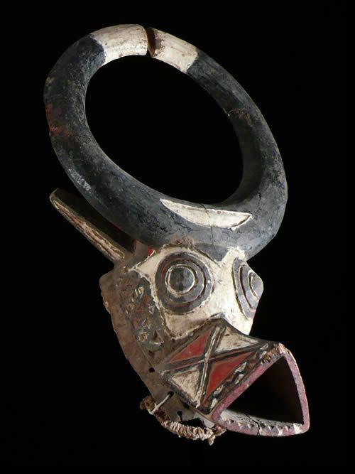 Masque Buffle Polychrome - Bwa - Burkina Faso