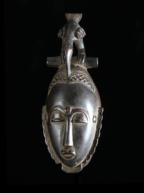 Masque de famille - Yahoure - Côte d'Ivoire