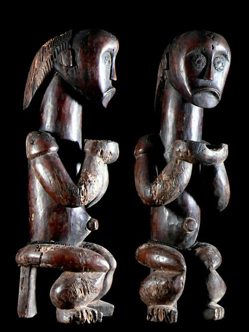 Gardien de reliquaire Biery - Fang / Ntumu - Gabon