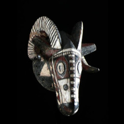 Masque Belier Polychrome -...