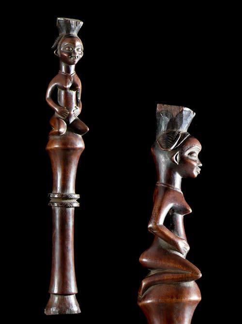 Sceptre de dignitaire - Punu / Pounou - Gabon - Regalia