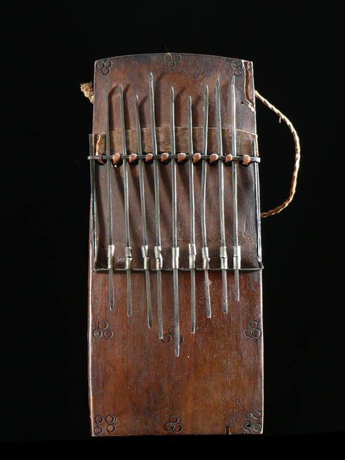 Sanza - Bambara ? - Mali - Instruments de musique