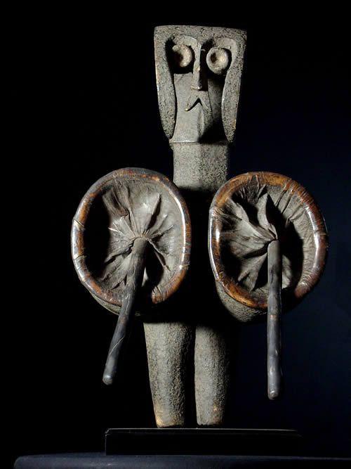 Soufflet de forge - Kwelle - Zaire - Objets ethnographique