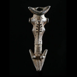 Sifflet en bronze - Lobi /...