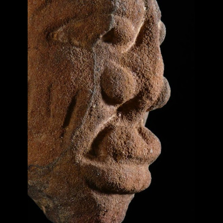 Tete en pierre - Ibadan -...