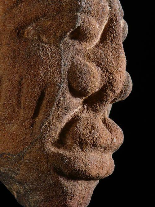 Tete en pierre - Ibadan - Yoruba / Nago - Nigeria