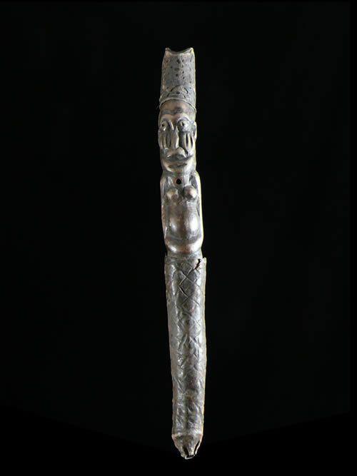 Flute en bois - Bamoun - Cameroun - Aerophones