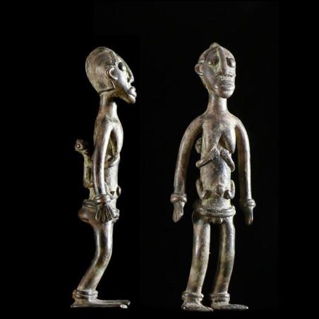 Maternite en bronze - Lobi...