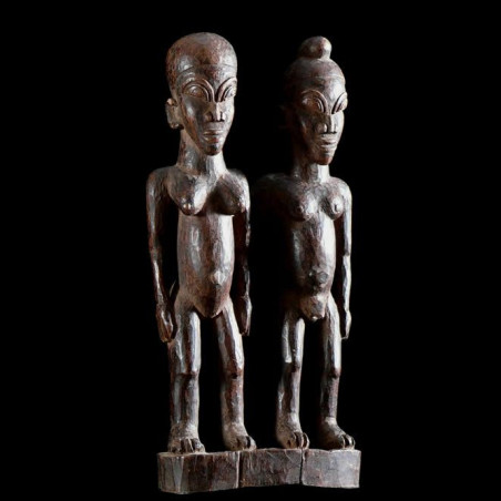 Couple ancestral - Lobi -...