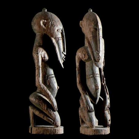 Statue figurant un Hogon -...