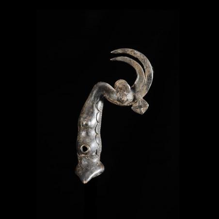 Sifflet en bronze - Lobi -...