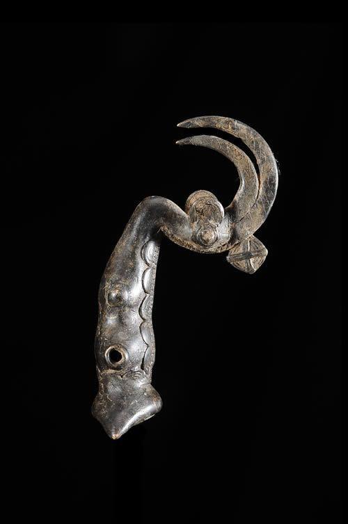 Sifflet en bronze - Lobi - Burkina Faso - Aerophones