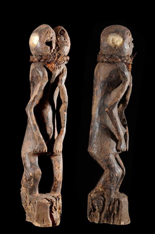 Statuette anthropomorphe - Chamba - Nigeria - Statues africaines