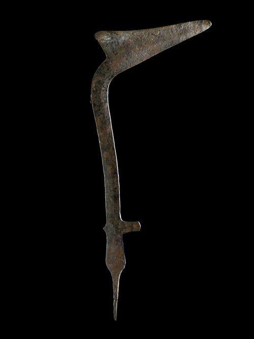 Couteau de jet ou monnaie - Banda / Langbase - RDC Zaire