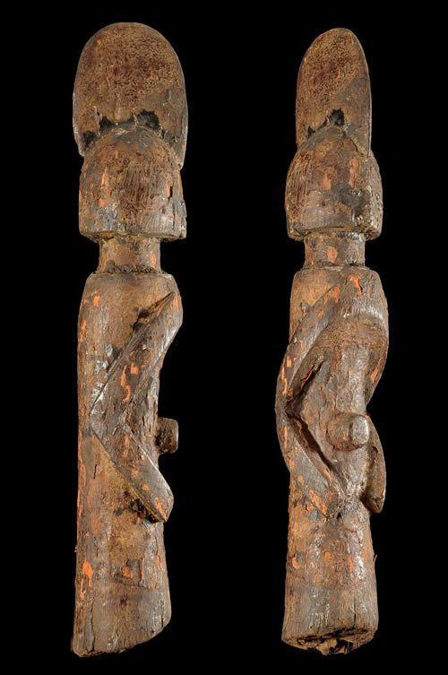 Statuette anthropomorphe Wundul - Wurkum - Nigeria