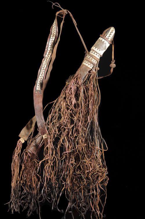 Carquois en cuir et fleches - Dari / Darru - Cameroun / Tchad