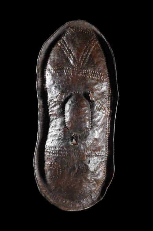 Bouclier en cuir - Afar - Ethiopie