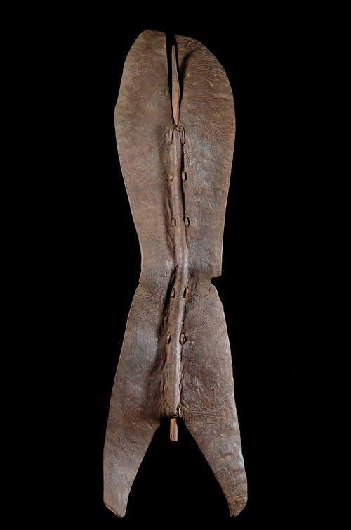 Bouclier en cuir - Lopit - Soudan