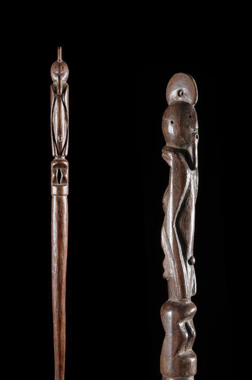 Sceptre de dignitaire - Wurkum - Nigeria - Objets de regalia