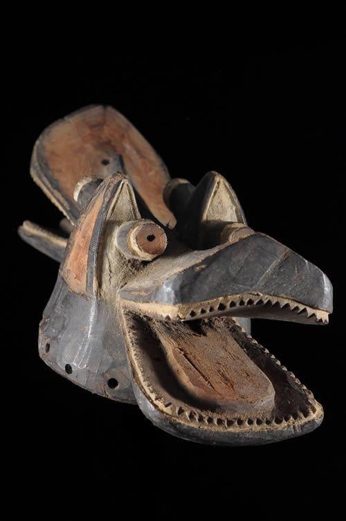 Masque Suaga Due ou Suaga Bor - Mambila - Nigeria / Cameroun