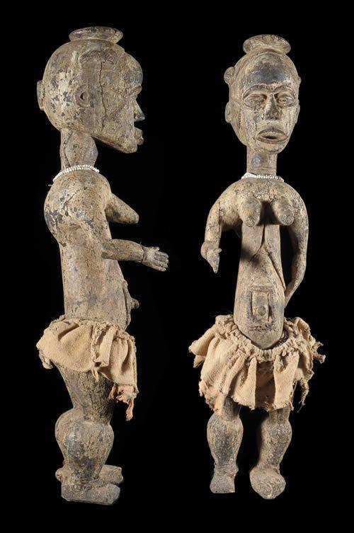 Statue de jeune femme - Idoma - Nigeria