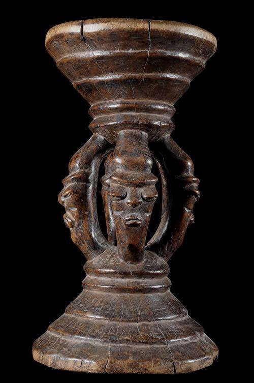 Siege autel - Pende - RDC Zaire - Sieges africains