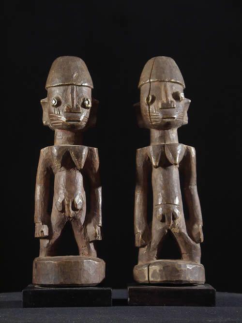 Couple de jumeaux Ibedji - Yoruba - Benin - Statues Africaines