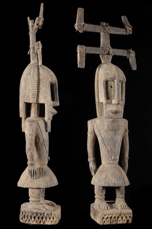 Statue Masque Kanaga - Dogon - Mali