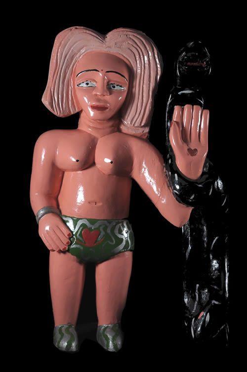 Statuette Vaudou Culte Mami Wata Agbagli - Ewe - Togo - Culte Va