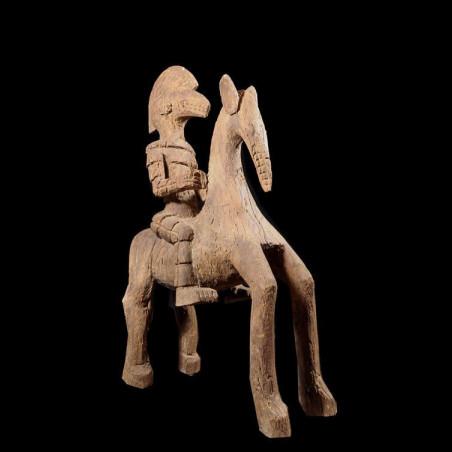 Cavalier et son cheval Koro...