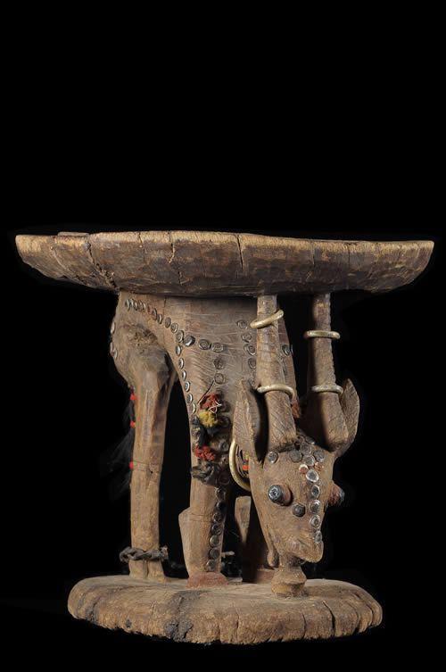 Siege autel - Bambara / Bozo - Mali - Sieges africains