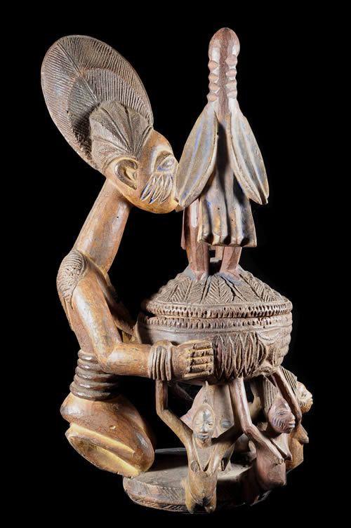 Porteuse de coupe - Yoruba - Nigeria - Style Olowe of Ise