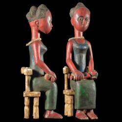 Statuette Maternite -...