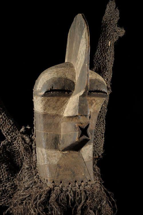 Masque Kifwebe - Songye - RDC Zaire
