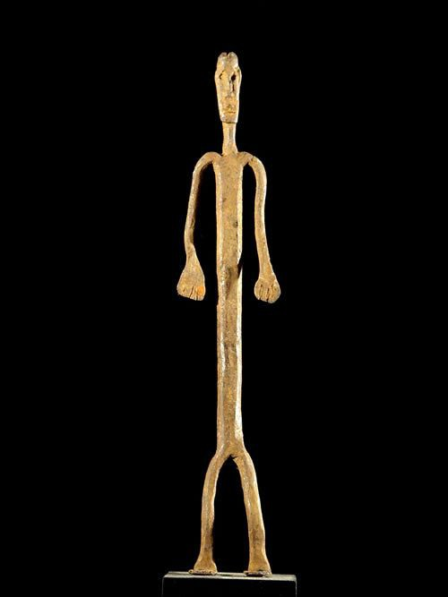 Fer rituel - Dogon - Mali - Fers noirs africains