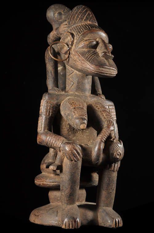 Maternite Okishi - Afo - Nigeria - Statues africaines