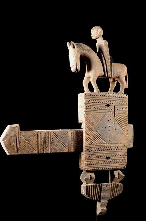 Serrure de porte - Bambara - Mali