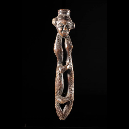 Flute en bois - Kuba - RDC...